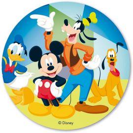 Disque Azyme Mickey Mouse & CO 20 cm