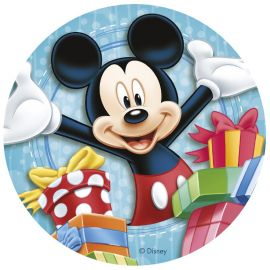 Disque Comestible Mickey Mouse & Cie 20 cm