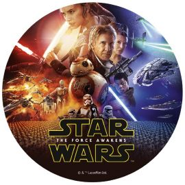 Disque Comestible de Star Wars 20 cm