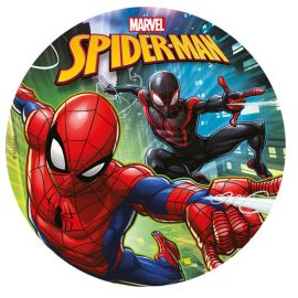 Disque Comestible de Spiderman 20 cm