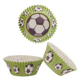 Caissettes Pour Cupcake Football de 5 cm