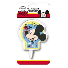 Bougie d'Anniversaire Mickey 2D