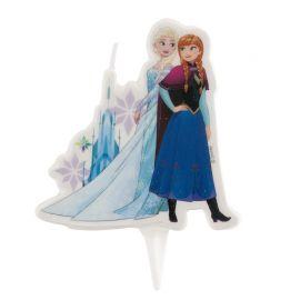 Bougie en forme de Elsa et Anna 7,5 cm 2D