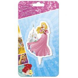 Bougie de la Princesse Aurora 7,5 cm 2D