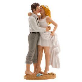 Figurine de Mariage Plage 16 cm