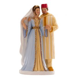 Figurine de Mariage Oriental 18 cm
