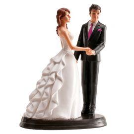 Sujets de Mariage Tenues par la Main 20 cm