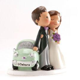 Sujets de Mariage Just Married 14 cm
