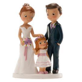 Figurine de Mariage avec Fille 16 cm