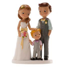 Figurine de Mariage avec Garçon 16 cm