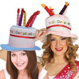 Chapeau de Gâteau de Joyeux Anniversaire