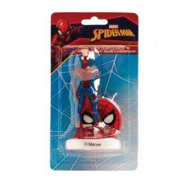 Bougie pour Anniversaire Spiderman 9 cm 3D