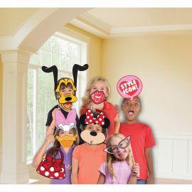 12 Accessoires Minnie Mouse pour Photobooth