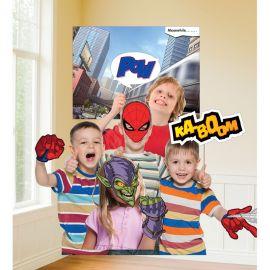12 Accessoires SpiderMan pour Photobooth