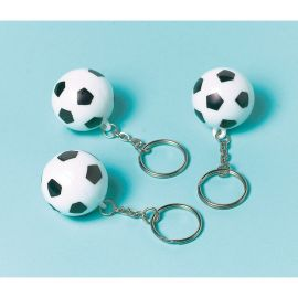 12 Portes-Clés Ballon de Football