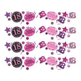 Confettis Elegant Anniversaire 18 Ans