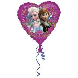 Ballon La Reine des Neiges en Forme de Coeur