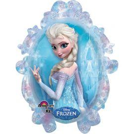 Ballon Frozen en forme de Miroir 63 cm x 78 cm