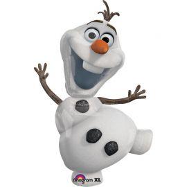 Ballon en forme d'Olaf 58 cm x 104 cm