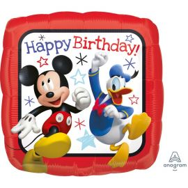 Ballon Mickey Mouse Happy Birthday en Aluminium