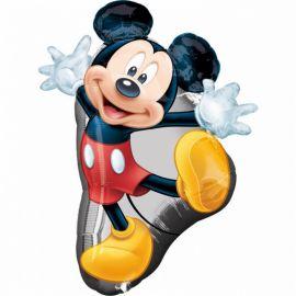 Ballon en forme de Mickey Mouse 55 cm x 78 cm