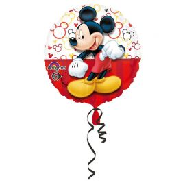 Ballon Mickey Mouse Portrait Brillant