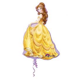 Ballon en forme de Belle 60 cm x 99 cm