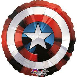 Ballon en forme du Bouclier de Captain America 71 cm