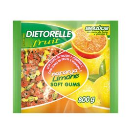Bonbons Dietorelle Saveures Orange et Citron 800 gr