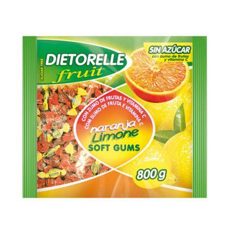 Bonbons Dietorelle Saveures Orange et Citron 800 gr