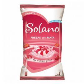Bonbons Solano Coeur de Fraises et Crème 12 Paquets