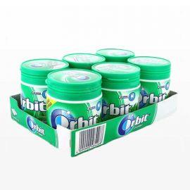 Boîte de Chewing-Gum Orbit Menthe Poivrée 6 paquets