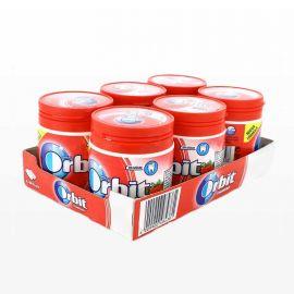Boîte de Chewing-Gum Orbit Fraise 6 paquets