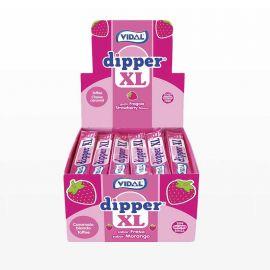 Bonbons Masticables Dipper à la Fraise XL 100 uts