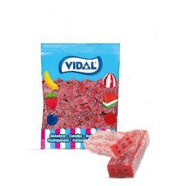 Bonbons Vidal Briques Piquantes Réglisse et Fraises 250 unités