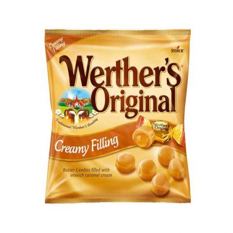 Bonbons Werther's au Caramel et à la Crème 15 Paquets