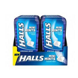 Mini Bonbons à la menthe Halls 12 paquets