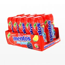 Chewing-gum Mentos Fruits Sauvages 10 paquets