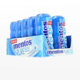 Chewing-gum Mentos Menthe Fraîche 10 paquets