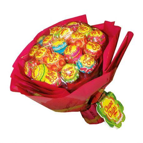 Bouquet de fleurs Chupa Chups