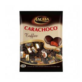 Bonbons Lutti Caramel et Chocolat 1 kg