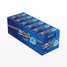 Chewing-Gum Trident Menthe Fraîche 24 sachets
