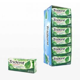 Chewing-Gum Trident Menthe verte 24 paquets