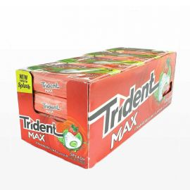 Chewing-Gum Trident Max Fraise 16 sachets