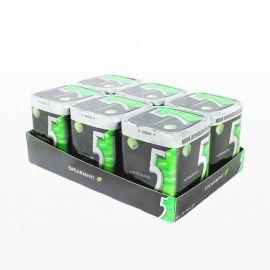 Chewing-Gum Five goût Menthe Poivrée 6 unités