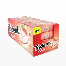 Chewing Gum Trident Max Pastèque 16 sachets