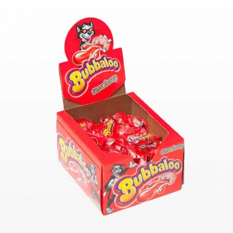 Chewing-Gum Bubbaloo Strawberry 60 unités