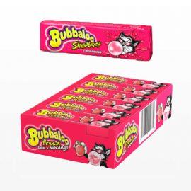 Chewing-Gum Bubbaloo Stick goût Fraise 18 unités
