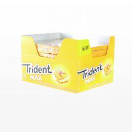 Chewing-Gum Trident Max Pastèque et Pêche 12 unités