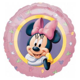 Ballon Minnie Mouse Paillettes Rond